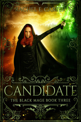 Couverture du livre : The Black Mage, tome 3 : Candidate