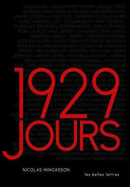 Couverture du livre : 1929 jours