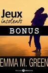 couverture Jeux Insolents - Bonus - Jeux éternels