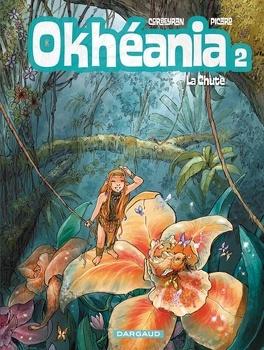 Couverture du livre : Okhéania, Tome 2 : La Chute