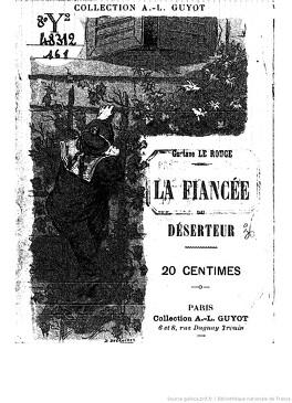 Couverture du livre : La fiancée du déserteur