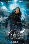couverture Les Ailes d'Alexanne, Tome 7 : James