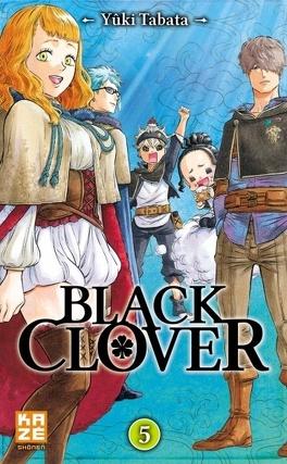 Couverture du livre : Black Clover, Tome 5