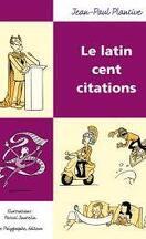 Le latin cent citations