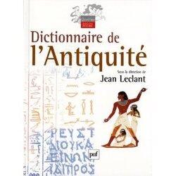 Couverture de Dictionnaire de l'Antiquité