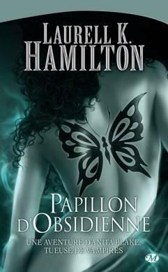 Couverture du livre : Anita Blake, Tome 9 : Papillon d'obsidienne