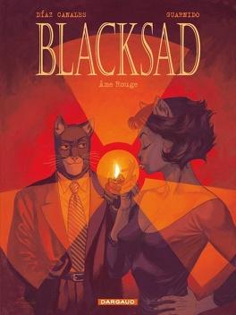 Couverture du livre : Blacksad, Tome 3 : Âme rouge