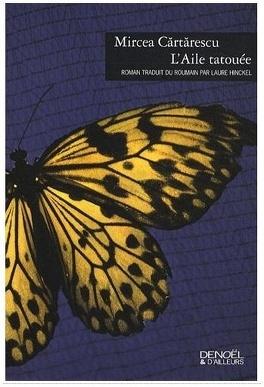 Couverture du livre : L'aile tatouée