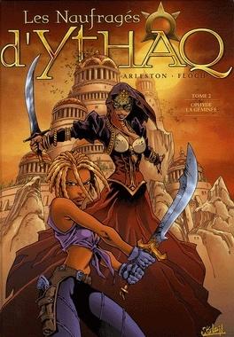 Couverture du livre : Les Naufragés d'Ythaq, Tome 2 : Ophyde la géminée