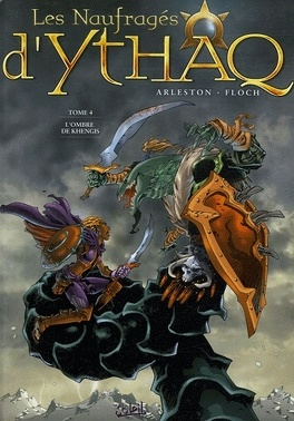 Couverture du livre : Les Naufragés d'Ythaq, Tome 4 : L'Ombre de Khengis