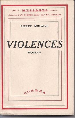 Couverture du livre : Violences