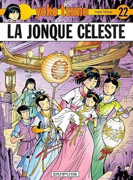 Couverture du livre : Yoko Tsuno, Tome 22 : La Jonque céleste