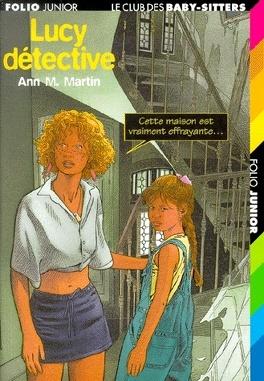 Couverture du livre : Le Club des Baby-sitters, Tome 35 : Lucy détective