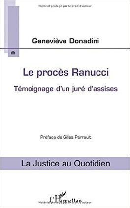 Couverture du livre : Le procès Ranucci: Témoignage D'un Juré D'assises