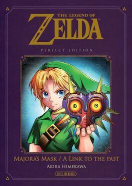 Couverture du livre : The Legend of Zelda - Majora's Mask & A Link To The Past