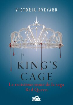 Couverture de Red Queen, tome 3 : King's Cage