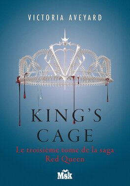 Couverture du livre : Red Queen, tome 3 : King's Cage