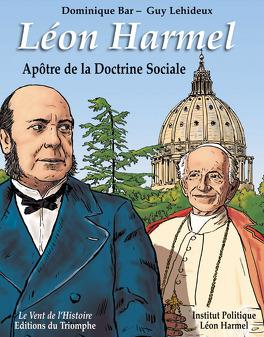 Couverture du livre : Léon Harmel, apôtre de la Doctrine Sociale