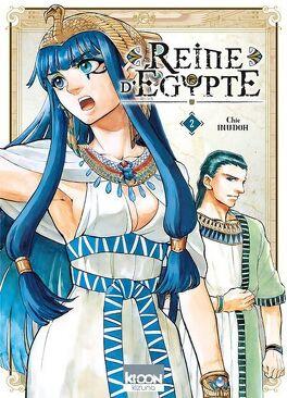 Couverture du livre : Reine d'Égypte, Tome 2