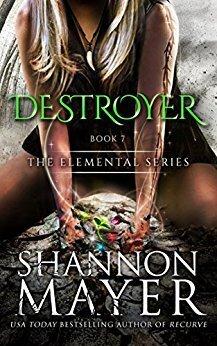 Couverture du livre : The Elemental, Tome 7 : Destroyer