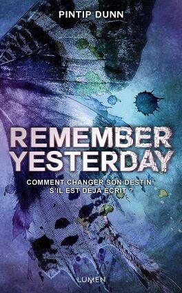 Couverture du livre : Remember Yesterday