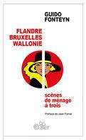 Flandre, Bruxelles, Wallonie: scènes de ménage à trois