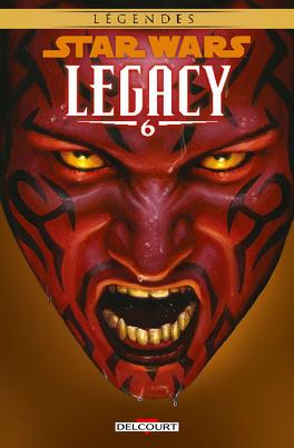 Couverture du livre : Star Wars Legacy, Tome 6 : Renégat