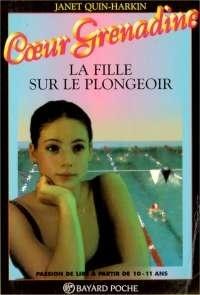 Couverture du livre : La fille sur le plongeoir