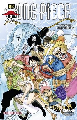 Couverture du livre : One Piece, Tome 82 : Un monde en pleine agitation