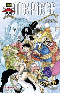 Couverture de One Piece, Tome 82 : Un monde en pleine agitation