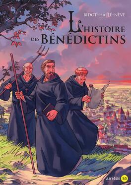 Couverture du livre : L'histoire des Bénédictins