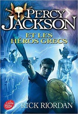 Couverture du livre : Percy Jackson et les héros grecs