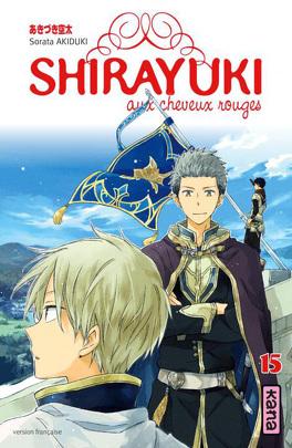 Couverture du livre : Shirayuki aux cheveux rouges, Tome 15