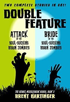 Couverture du livre : Split Screen: Attack of the Soul-Sucking Brain Zombies/Bride of the Soul-Sucking Brain Zombies