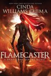couverture Shattered Realms, Tome 1 : Flamecaster