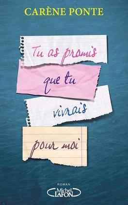 Couverture du livre : Tu as promis que tu vivrais pour moi