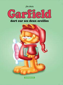 Couverture de Garfield, tome 18 : Garfield dort sur ses deux oreilles