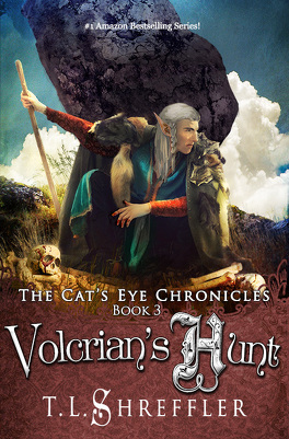 Couverture du livre : The Cat's Eye Chronicles, Tome 3 : Volcrian's Hunt