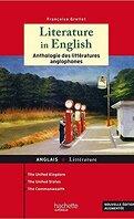 Literature in English : anthologie des littératures du monde anglophone