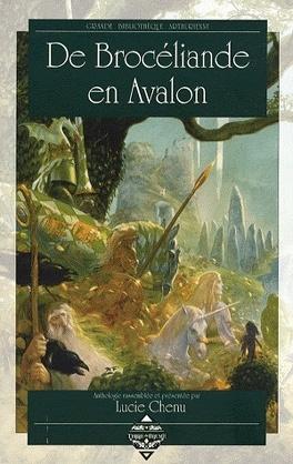 Couverture du livre : De Brocéliande en Avalon