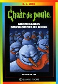 Chair de poule, tome 44 : Abominables bonshommes des neiges