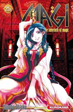 Couverture de Magi : The Labyrinth of Magic, Tome 25