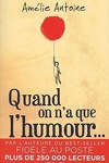 couverture Quand on n'a que l'humour