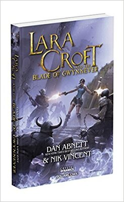 Couverture de Lara Croft and the Blade of Gwynnever