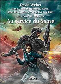 Couverture du livre : Autour d'Honor, Tome 4 : Au service du glaive