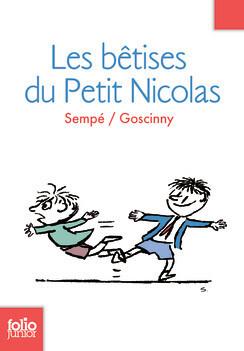 Couverture du livre : Les bêtises du Petit Nicolas