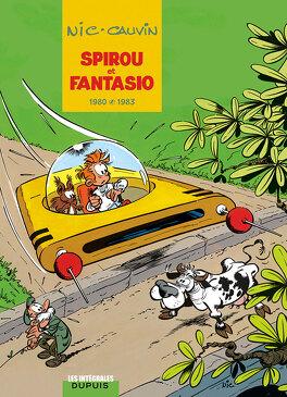 Couverture du livre : Spirou et Fantasio - L'intégrale, tome 12 : 1980-1983
