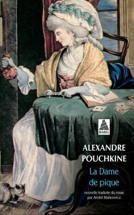 Couverture du livre : La Dame de pique