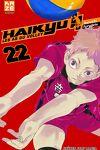 couverture Haikyū !! Les As du volley, Tome 22