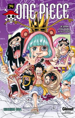 Couverture du livre : One Piece, Tome 74 : Je serai toujours à tes côtés